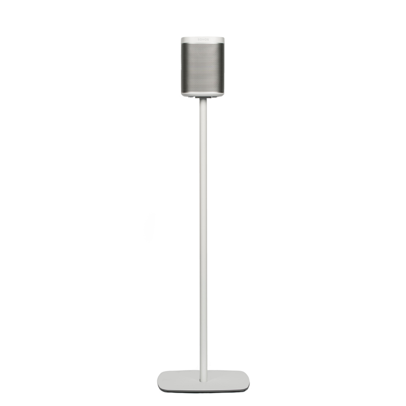 Flexson Floor Stand for SONOS PLAY:1 (Single) White Home Control and Audio