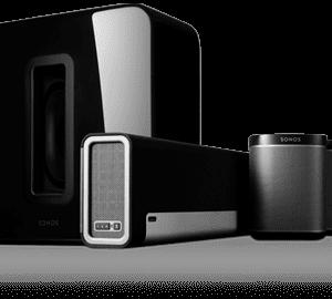 Sonos 5.1 Surround Sound Package with Playbar