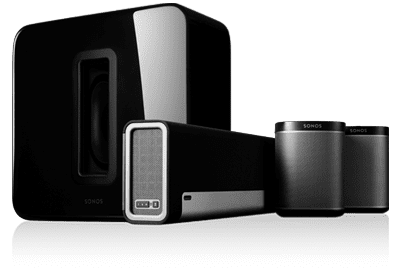 Sonos 5.1 Surround Sound Package with Playbar