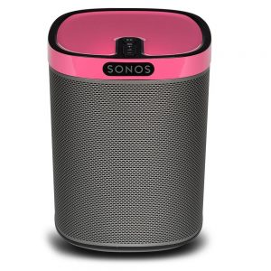 Flexson SONOS PLAY:1 ColourPlay Skin Candy Pink Gloss