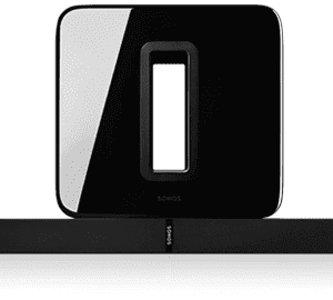 SONOS 3.1 Home Theatre System with Playbase and Sub Black